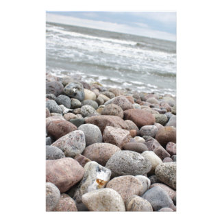 Stones at the beach/Baltic Sea/island reproaches Stationery