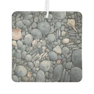 Stones Beach Pebbles Rocks Car Air Freshener