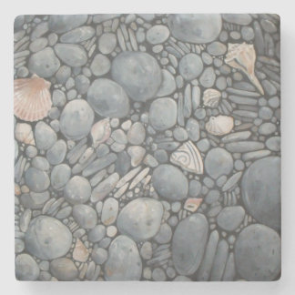 Stones Beach Pebbles Rocks Stone Coaster