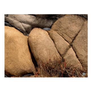 """Stones of Easter #1: """"Bread"""" postcard"""