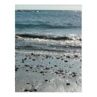 Stones On Beach Shore Postcard