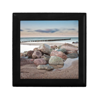 Stones on shore of the Baltic Sea Gift Box