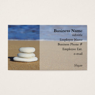Stones on the Beach Business Cards