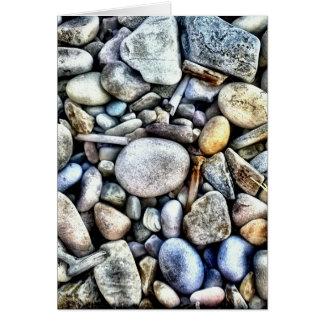 Stones Pebbles Texture Card