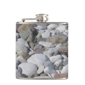 stones Vinyl Wrapped Flask