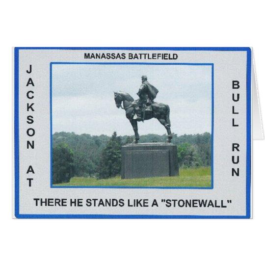 STONEWALL JACKSON CARD