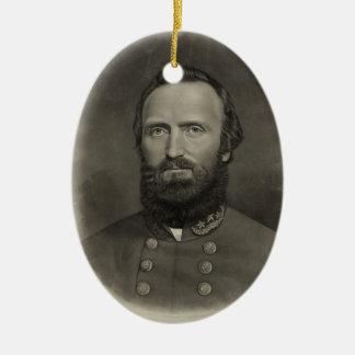 Stonewall Jackson Ceramic Ornament