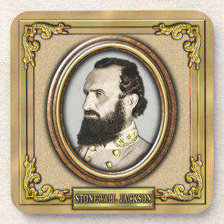 Stonewall Jackson Civil War Beverage Coaster