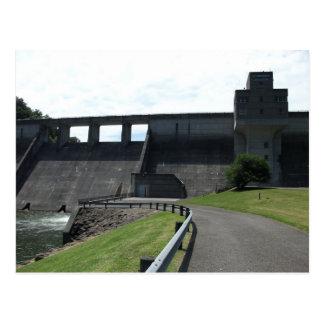 Stonewall Jackson Dam, West Fork River, Weston, WV Postcard