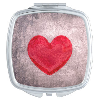 Stonewashed Heart Vanity Mirror