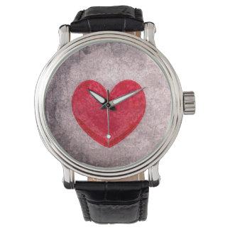 Stonewashed Heart Watches
