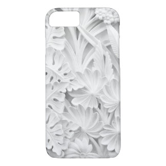 Stonework in a Leaf and Flower Motif iPhone 8/7 Case