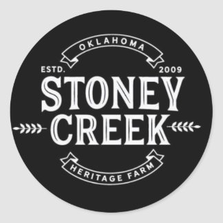 Stoney Creek Heritage Farm Stickers (Black)
