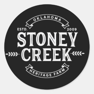 Stoney Creek Heritage Farm Stickers (Black)