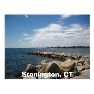 Stonington, CT Postcard