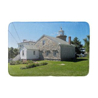 Stonington Harbor Lighthouse, Connecticut Bath Mat
