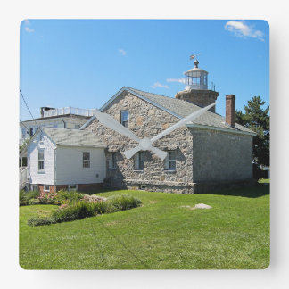 Stonington Harbor Lighthouse, Connecticut Clock
