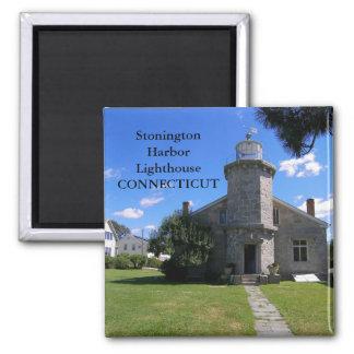 Stonington Harbor Lighthouse, Connecticut Magnet