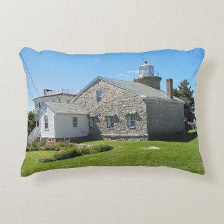 Stonington Harbor Lighthouse, Connecticut Pillow