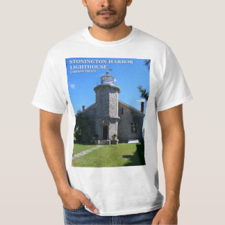 Stonington Harbor Lighthouse, Connecticut T-Shirt