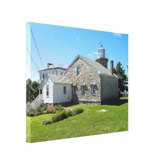 Stonington Harbor Lighthouse, CT Canvas Print