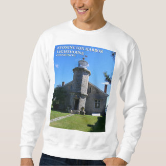 Stonington Harbor Lighthouse, CT Sweatshirt