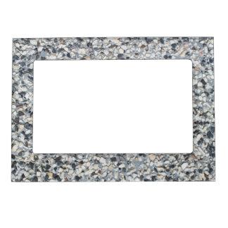 Stony pattern magnetic frame