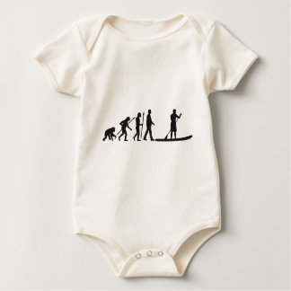 Stood UP Paddling evolution Baby Bodysuit
