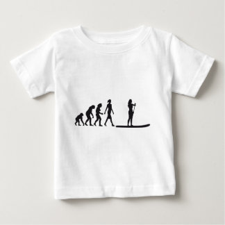 Stood UP Paddling evolution Baby T-Shirt