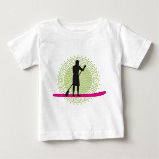 Stood UP paddling one woman Baby T-Shirt