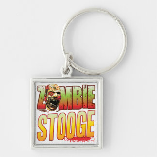 Stooge Zombie Head Key Chains