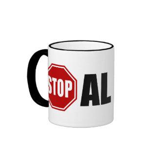 Stop Al Gore Ringer Mug
