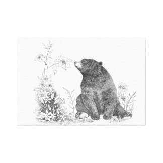 Stop and Smell the Flowers Canvas Wall Art