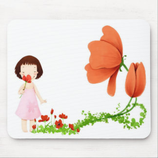Stop and Smell the Flowers Mousepad