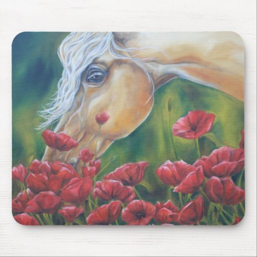Stop and smell the Roses Mousepads