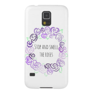 Stop and Smell the Roses, Samsung Galaxy S5 Case