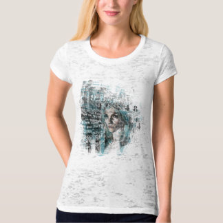 stop and stare (ladies burnout tshirt) tees