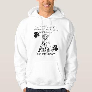 STOP animal abuse! hoodie