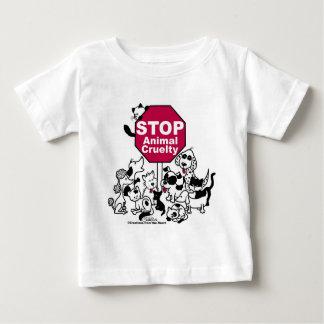 Stop Animal Cruelty Baby T-Shirt