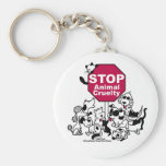 Stop Animal Cruelty Key Chain