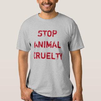 """""""Stop Animal Cruelty"""" t-shirt"""