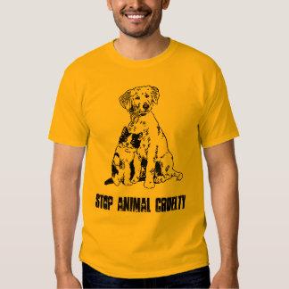 STOP ANIMAL CRUELTY TSHIRTS