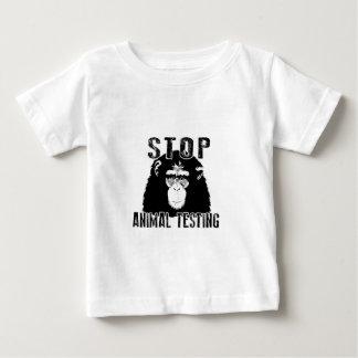 Stop Animal Testing - Chimpanzee Baby T-Shirt