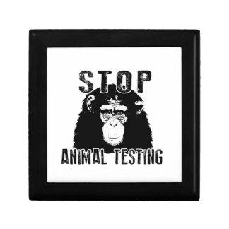 Stop Animal Testing - Chimpanzee Gift Box