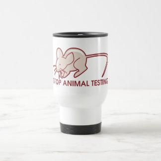 Stop Animal Testing Coffee Mug