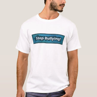 Stop Bullying Blue Brick T-Shirt