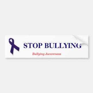 STOP BULLYING Bullying awareness bumper Sticker