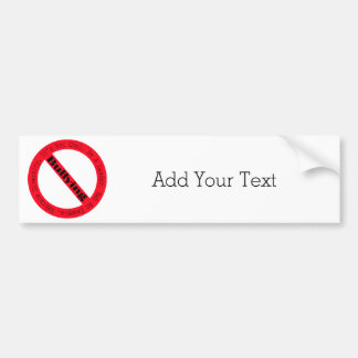 Stop Bullying-Logo Bumper Sticker