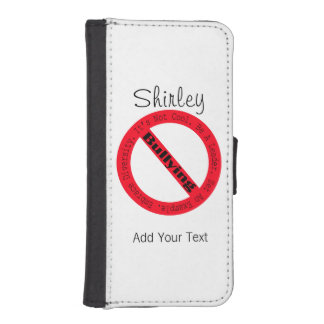 Stop Bullying-Logo by Shirley Taylor iPhone SE/5/5s Wallet Case