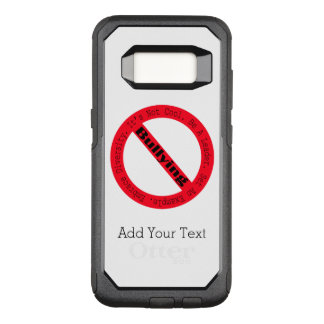 Stop Bullying-Logo by Shirley Taylor OtterBox Commuter Samsung Galaxy S8 Case